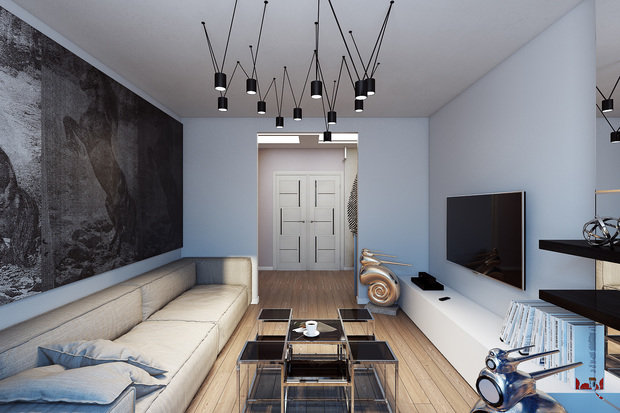Фотография:  в стиле , Классический, Хай-тек, Декор, Мебель и свет, Минимализм, Проект недели – фото на InMyRoom.ru