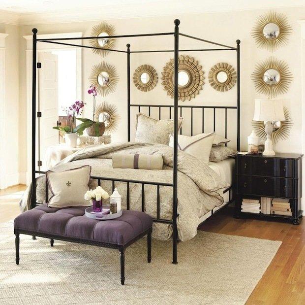 Фотография: Спальня в стиле Прованс и Кантри, Декор интерьера, Мебель и свет, Балдахин – фото на InMyRoom.ru