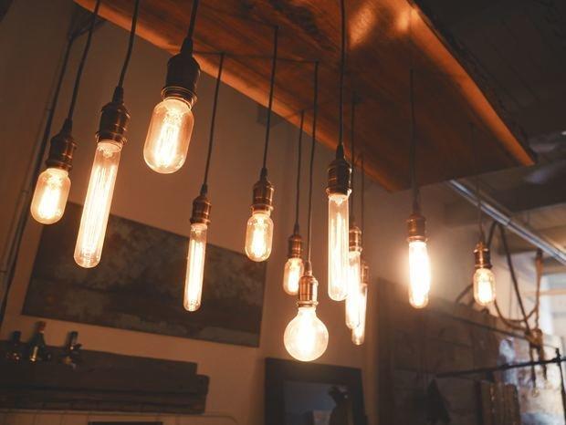 Фотография: Мебель и свет в стиле Лофт,  – фото на INMYROOM