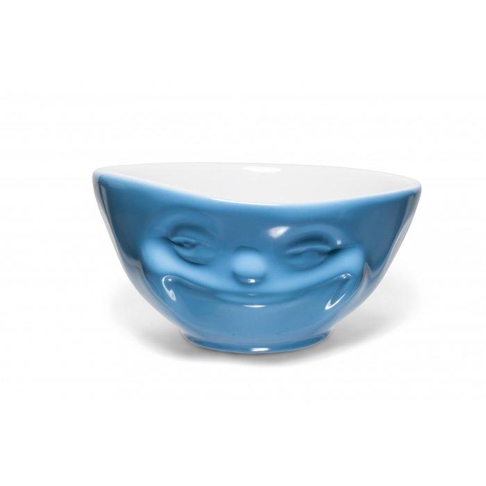 Пиала Tassen «Мимика», насмешка, голубая