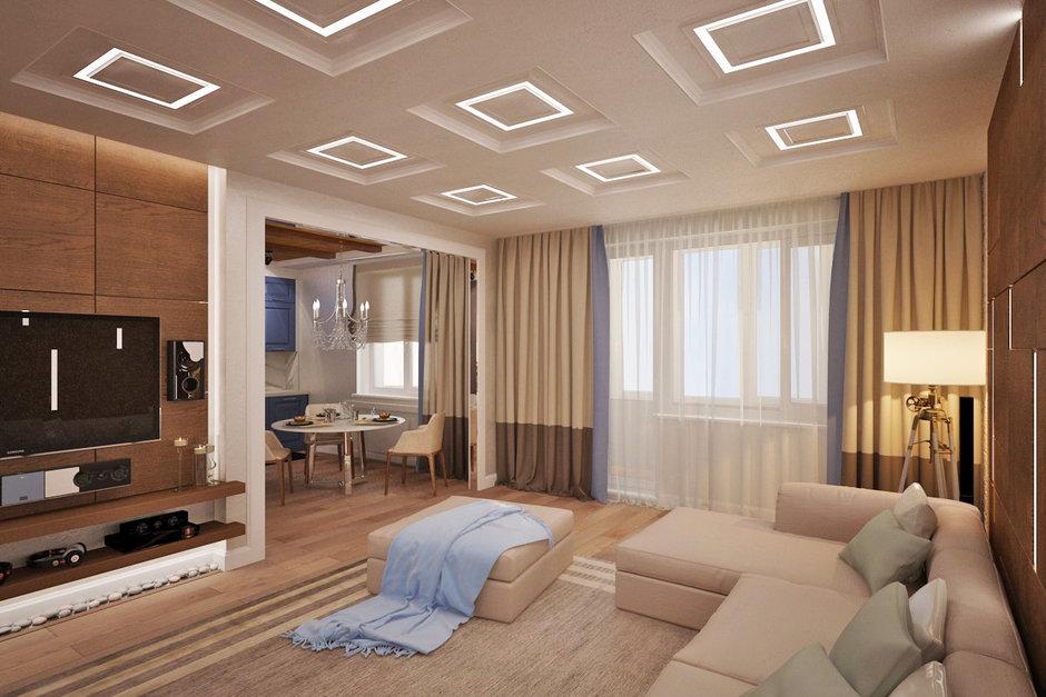 Фотография:  в стиле , Квартира, Проект недели, Москва – фото на InMyRoom.ru