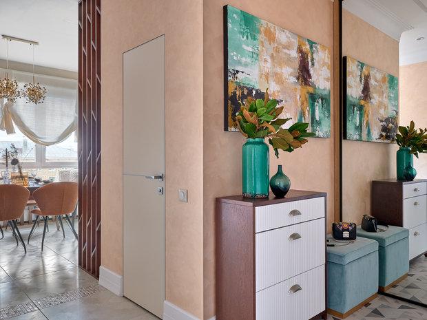 Фотография: Прихожая в стиле Современный, Квартира, Проект недели, Москва, 3 комнаты, 60-90 метров, Евгения Ивлиева – фото на INMYROOM