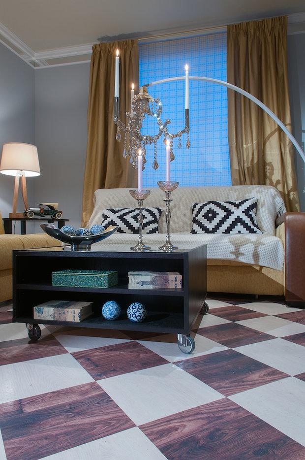 Фотография: Гостиная в стиле Эклектика, Кухня и столовая, Дом, Дома и квартиры – фото на InMyRoom.ru