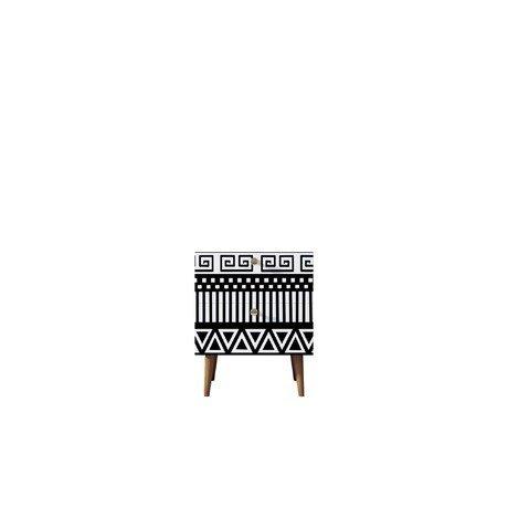 Тумбочка Berber с двумя ящиками 19 принт — купить по цене 9900 руб в Москве   фото, описание, отзывы, артикул IMR-1146584   Интернет-магазин INMYROOM