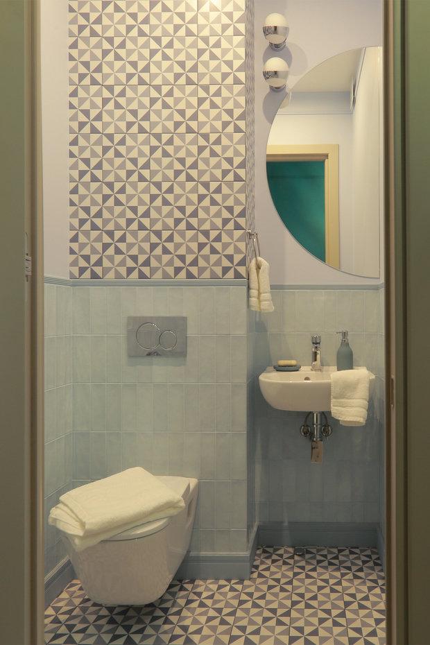 Фотография: Ванная в стиле Современный, Квартира, Проект недели, Москва, 3 комнаты, 60-90 метров, Ирина Сагун – фото на INMYROOM