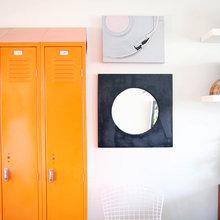 Фотография: Декор в стиле Лофт, Ванная, Декор интерьера, Советы, Красный, Зеленый, Бежевый, Серый, Голубой – фото на InMyRoom.ru