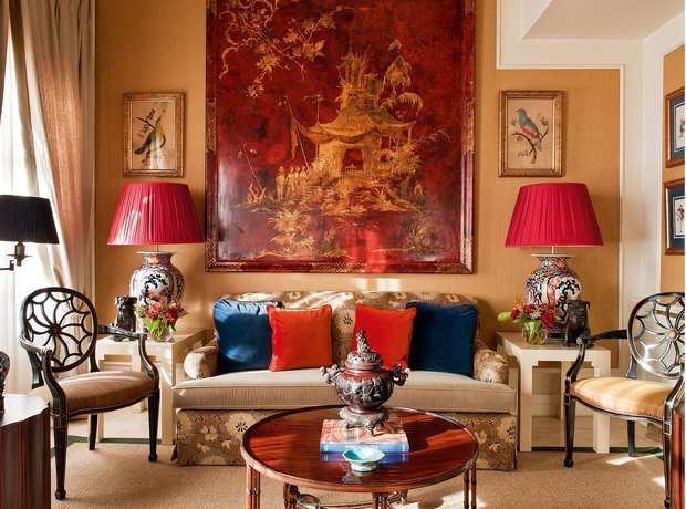 Фотография: Гостиная в стиле Восточный, Советы, Hoff, Анна Баральди – фото на INMYROOM