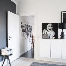 Фото из портфолио Графическое РОЖДЕСТВО в Черно-Белым интерьере – фотографии дизайна интерьеров на INMYROOM