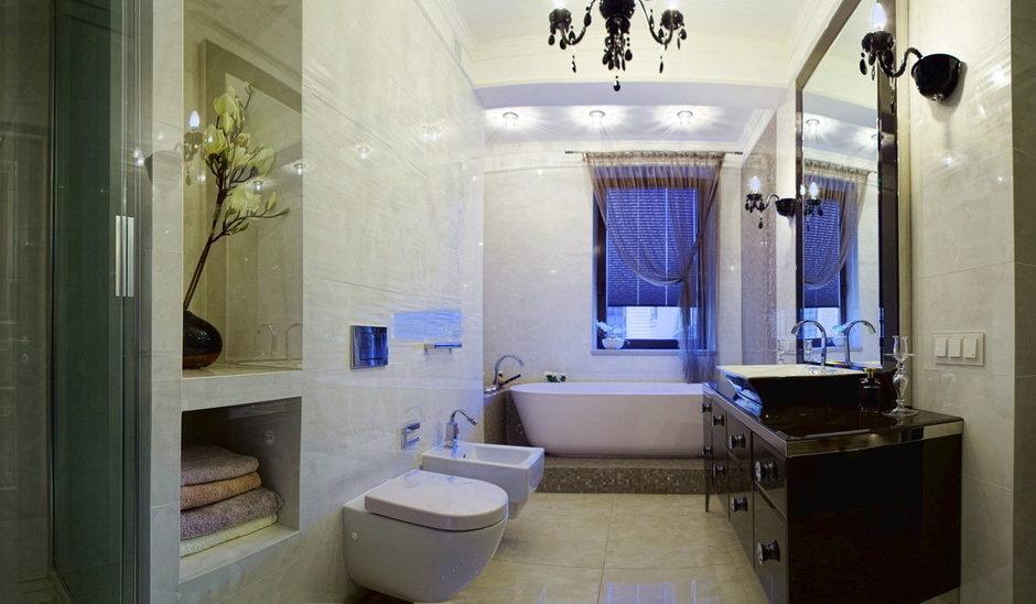 Фотография: Ванная в стиле Современный, Эклектика, Квартира, Дома и квартиры, Ар-деко, Неоклассика – фото на InMyRoom.ru