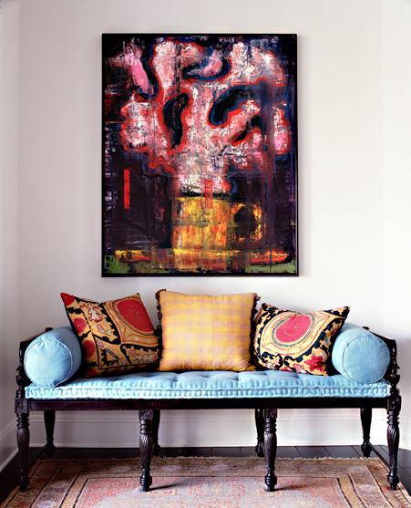 Фотография: Декор в стиле Восточный, Эклектика, Дом, Цвет в интерьере, Дома и квартиры – фото на InMyRoom.ru