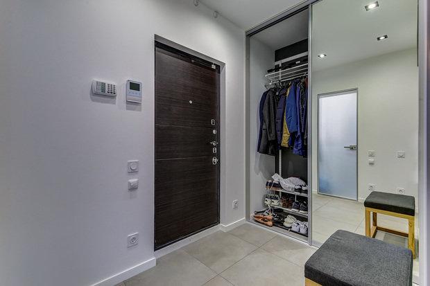 Фото из портфолио Ремонт 1 комнатной квартиры для брутального мужчины – фотографии дизайна интерьеров на INMYROOM