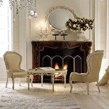Фотография: Спальня в стиле Классический, Современный, Декор интерьера, Аксессуары, Декор, Мебель и свет, итальянская классика, интерьер в стиле итальянская классика – фото на InMyRoom.ru