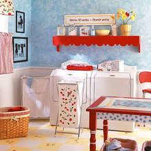 Фотография: Ванная в стиле Кантри, Декор интерьера, Декор дома, Системы хранения – фото на InMyRoom.ru