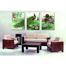 Модульная картина от дизайнера: Сказочный сад
