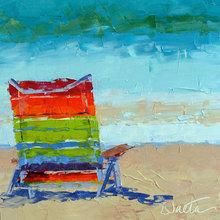 Картина (репродукция, постер): Sun chair - Лесли Саета