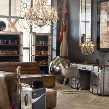 Фотография: Кабинет в стиле Лофт, Декор интерьера, Квартира, Дом, Декор – фото на InMyRoom.ru