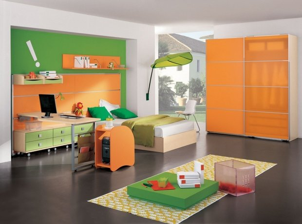 Фотография: Спальня в стиле Современный, Детская, Интерьер комнат, Советы – фото на InMyRoom.ru