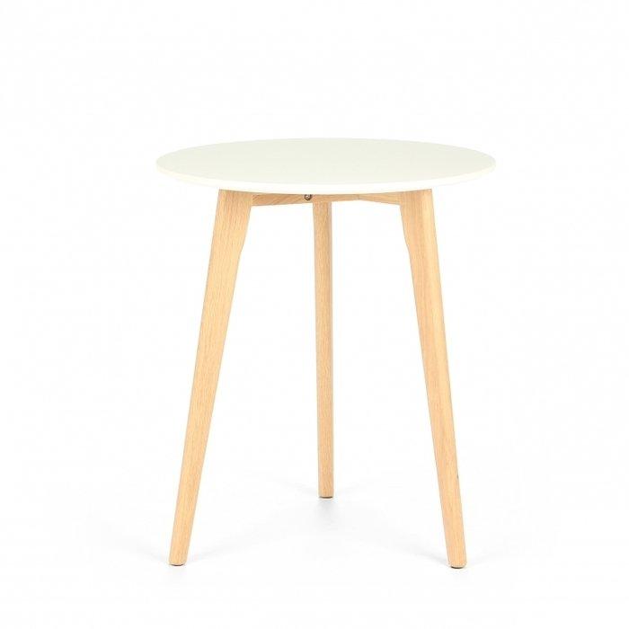 Небольшой обеденный стол Knox с ножками из американского белого дуба