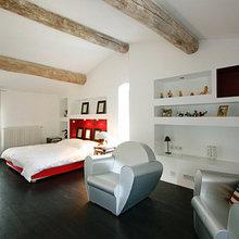 Фотография: Спальня в стиле Эклектика, Дом, Франция, Дома и квартиры, Прованс – фото на InMyRoom.ru
