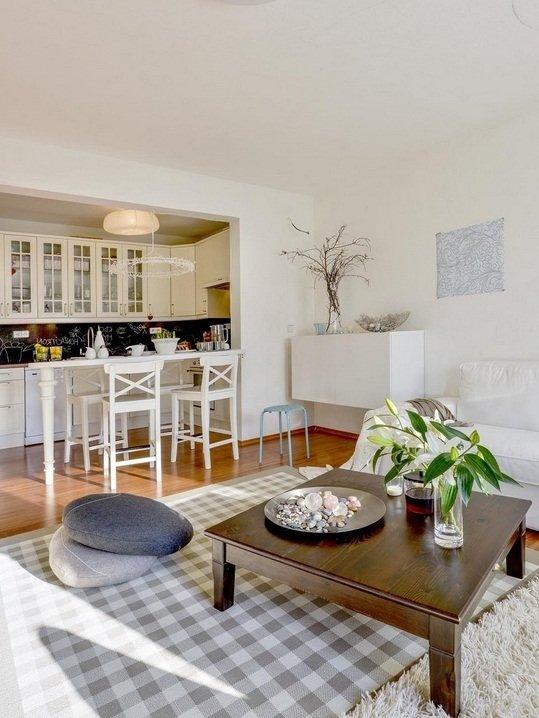 Фотография: Кухня и столовая в стиле Скандинавский, Декор интерьера, Декор дома, Журнальный столик – фото на InMyRoom.ru