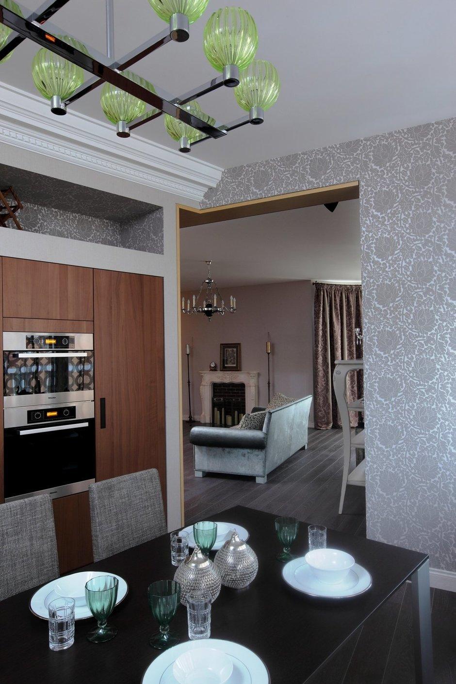 Фотография: Кухня и столовая в стиле Современный, Квартира, Дома и квартиры, Москва, Фьюжн – фото на InMyRoom.ru