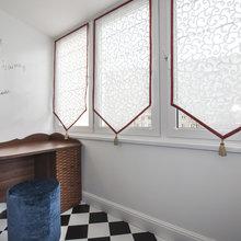 Фото из портфолио Сложная треуголная комната – фотографии дизайна интерьеров на InMyRoom.ru