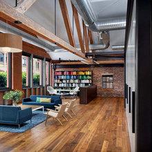 Фотография: Гостиная в стиле Современный, Офисное пространство, Офис, Дома и квартиры, Проект недели – фото на InMyRoom.ru