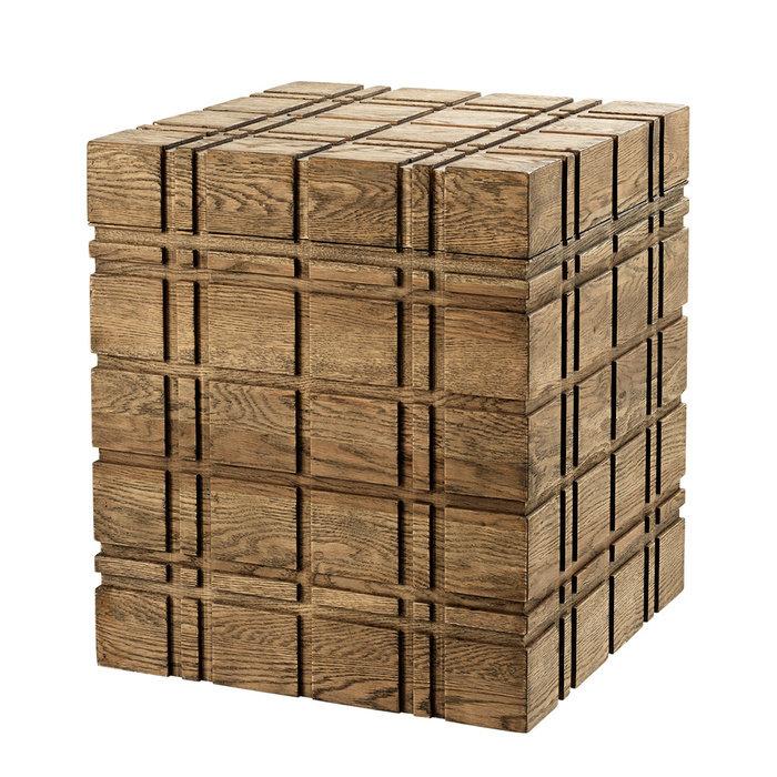 """Сундук Eichholtz """"Trunk Paxton"""" из дерева 58x50 см"""