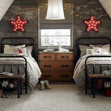 Фотография: Детская в стиле Скандинавский, Спальня, Декор интерьера, Мебель и свет, Декор дома – фото на InMyRoom.ru