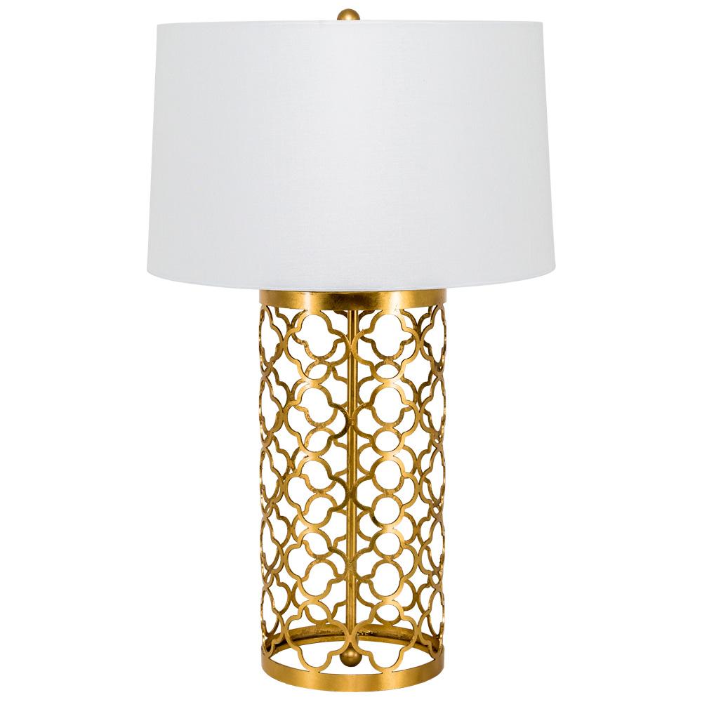 Купить Настольная лампа рона с белым абажуром, inmyroom, Россия
