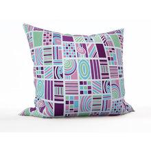Декоративная подушка: Весенние квадраты