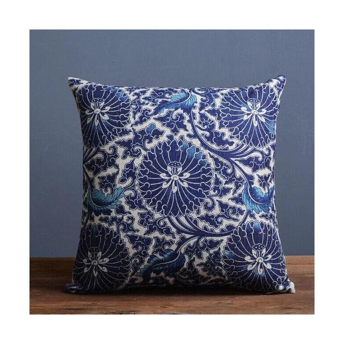 Чехол для подушки Синий тон
