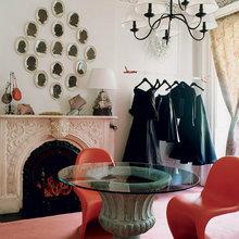 Фотография: Гостиная в стиле Эклектика, Спальня, Декор интерьера, Малогабаритная квартира, Квартира, Советы – фото на InMyRoom.ru
