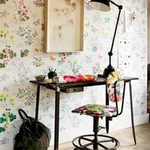 Фотография: Офис в стиле Кантри, Современный, Текстиль, Стиль жизни, Советы, Цветы – фото на InMyRoom.ru
