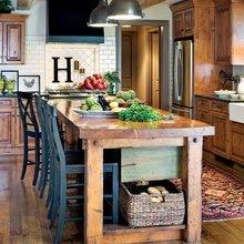 Фото из портфолио Интерьер кухни в стиле лофт – фотографии дизайна интерьеров на InMyRoom.ru