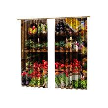 Фотошторы для дома: Овощи