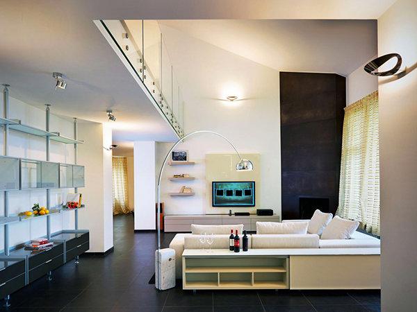 Фотография: Гостиная в стиле Минимализм, Декор интерьера, Мебель и свет – фото на InMyRoom.ru