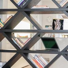 Фотография: Декор в стиле Современный, Детская, Квартира, Дома и квартиры, Стеллаж, Геометрия в интерьере – фото на InMyRoom.ru