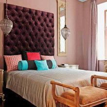 Фотография: Спальня в стиле Восточный, Эклектика, Интерьер комнат – фото на InMyRoom.ru