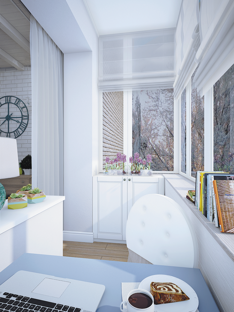 Фотография: Балкон, Терраса в стиле , Декор интерьера, DIY, Квартира, Restoration Hardware, Дома и квартиры, IKEA, Проект недели, Cosmorelax, Ideal Lux – фото на InMyRoom.ru