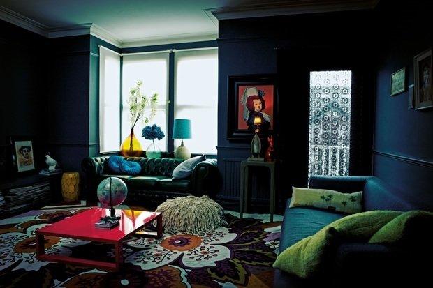 Фотография: Гостиная в стиле Эклектика, Интервью, Правила дизайна, Абигейл Ахерн – фото на INMYROOM