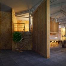 """Фото из портфолио Кафе """"Слобода""""  – фотографии дизайна интерьеров на INMYROOM"""