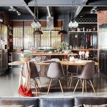 Фотография: Кухня и столовая в стиле Лофт, Гостиная, Декор интерьера, Интерьер комнат, Проект недели – фото на InMyRoom.ru