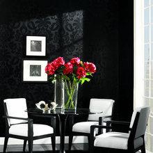 Фотография: Мебель и свет в стиле Современный, Декор интерьера, Дизайн интерьера, Цвет в интерьере, Обои – фото на InMyRoom.ru