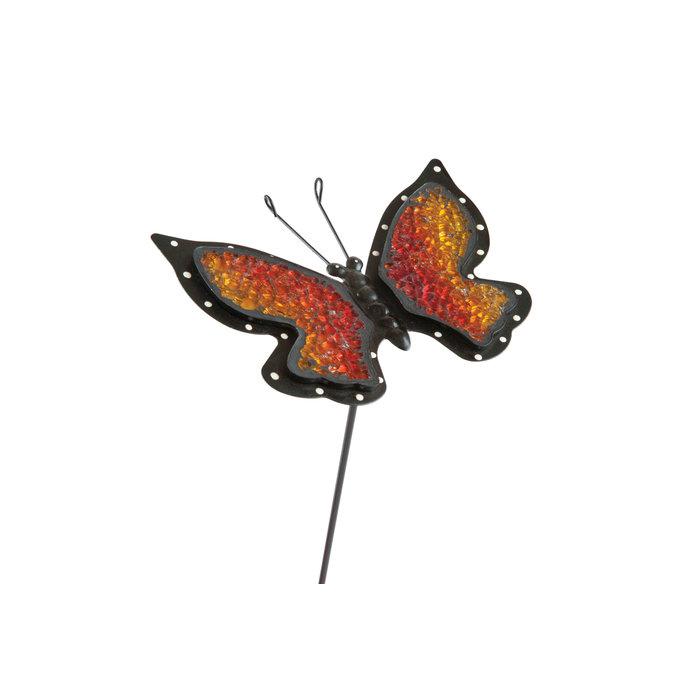 Садовый декор на стержне Бабочка