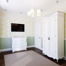Фото из портфолио Квартира в легком классическом стиле для молодой пары – фотографии дизайна интерьеров на InMyRoom.ru