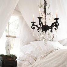 Фотография: Спальня в стиле Кантри, Скандинавский, Классический, Декор интерьера, Дом, Минимализм, Эко – фото на InMyRoom.ru