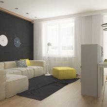 Фото из портфолио берлога холостяка  – фотографии дизайна интерьеров на InMyRoom.ru