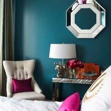 Фотография: Спальня в стиле Эклектика, Освещение, Декор, Советы, Ремонт на практике – фото на InMyRoom.ru