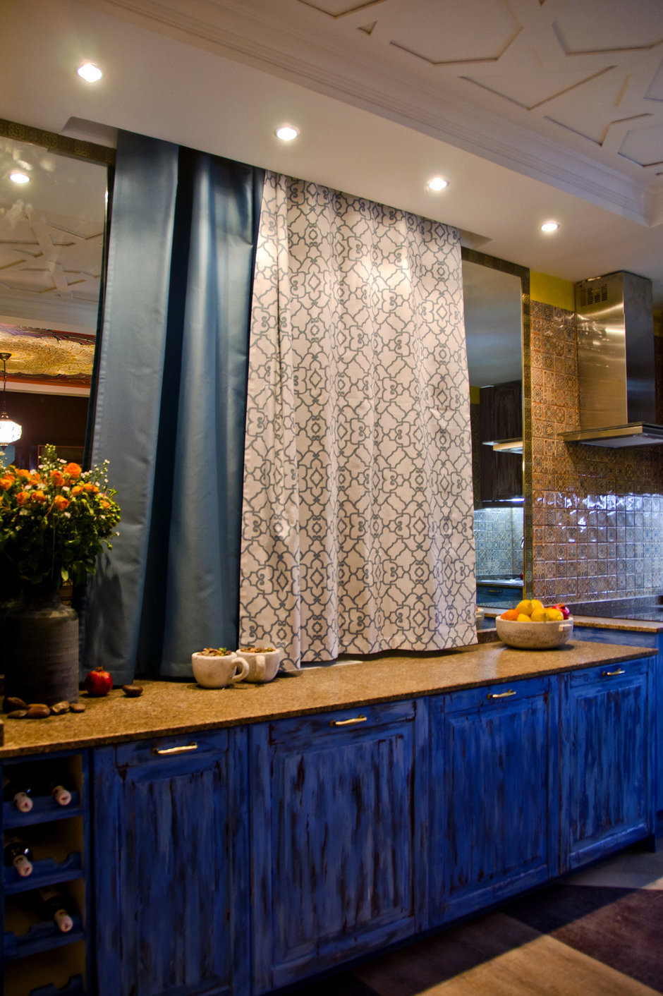 Фотография: Кухня и столовая в стиле , Интерьер комнат, Проект недели, Марокканский – фото на InMyRoom.ru